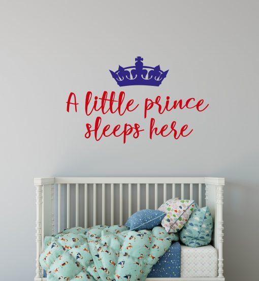 A Little Prince Sleeps Here