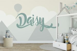 Girls Name Wall Sticker