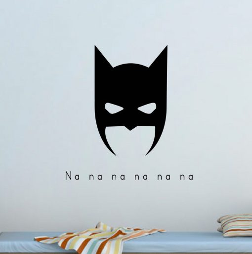 Custom Superhero Wall Sticker