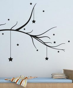 Hanging Stars Tree Branch