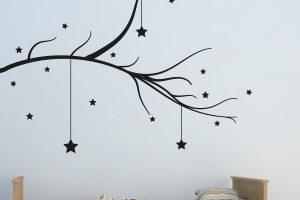Hanging Stars Tree Branch