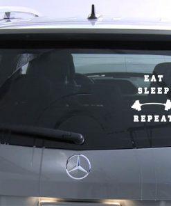 gym bumper stickers