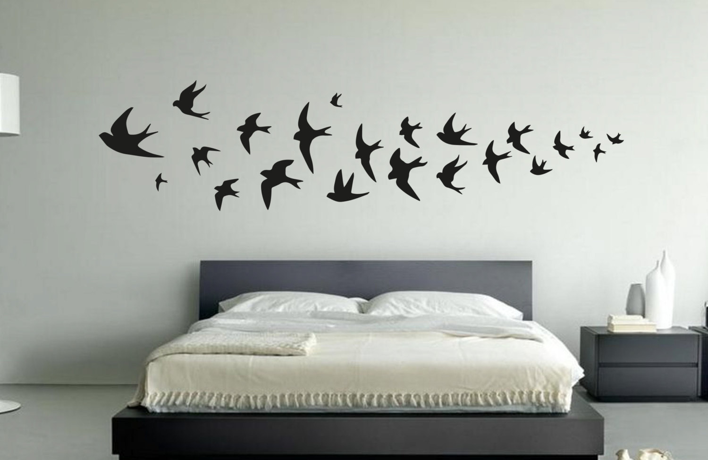 Swallow Bird Wall Sticker Fox And Canvas