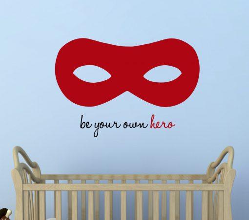Superhero Wall Sticker