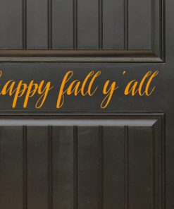 Happy Fall Sticker