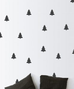 Pine Tree Wall Stickers