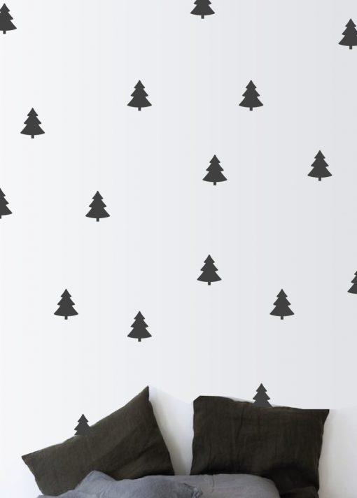 Pine Tree Wall Stickers