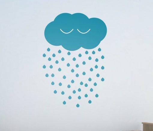 Sleeping Cloud Wall Sticker