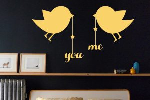 Love Birds Wall Sticker