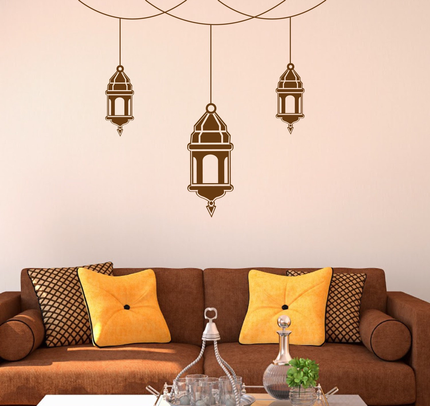 Hanging Lantern Wall Sticker