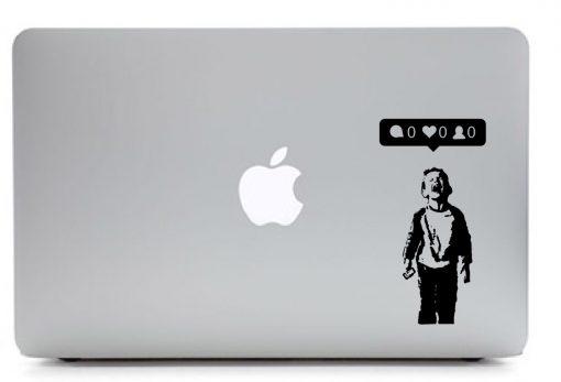 iHeart Nobody Likes Me Laptop Sticker