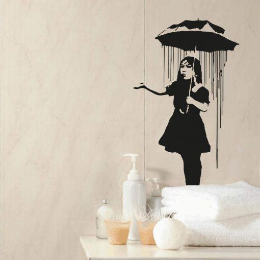 Banksy Nola Sticker