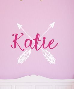 Arrow Name Wall Sticker