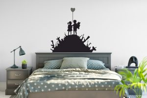 Banksy Kids Guns Wall Sticker