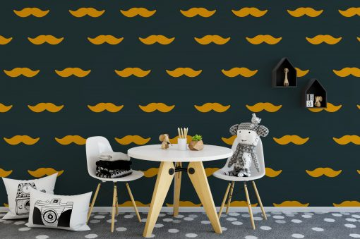 Hipster Moustache Wall Stickers