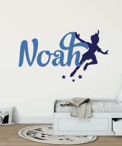 Peter Pan Boys Name Wall Sticker