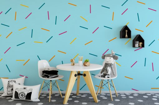 Sprinkle Pattern Wall Stickers