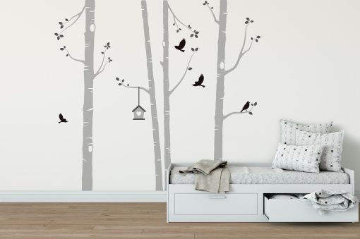 nursery wall stickers tree ideas