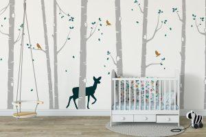 Nature | Trees | Birds Stickers