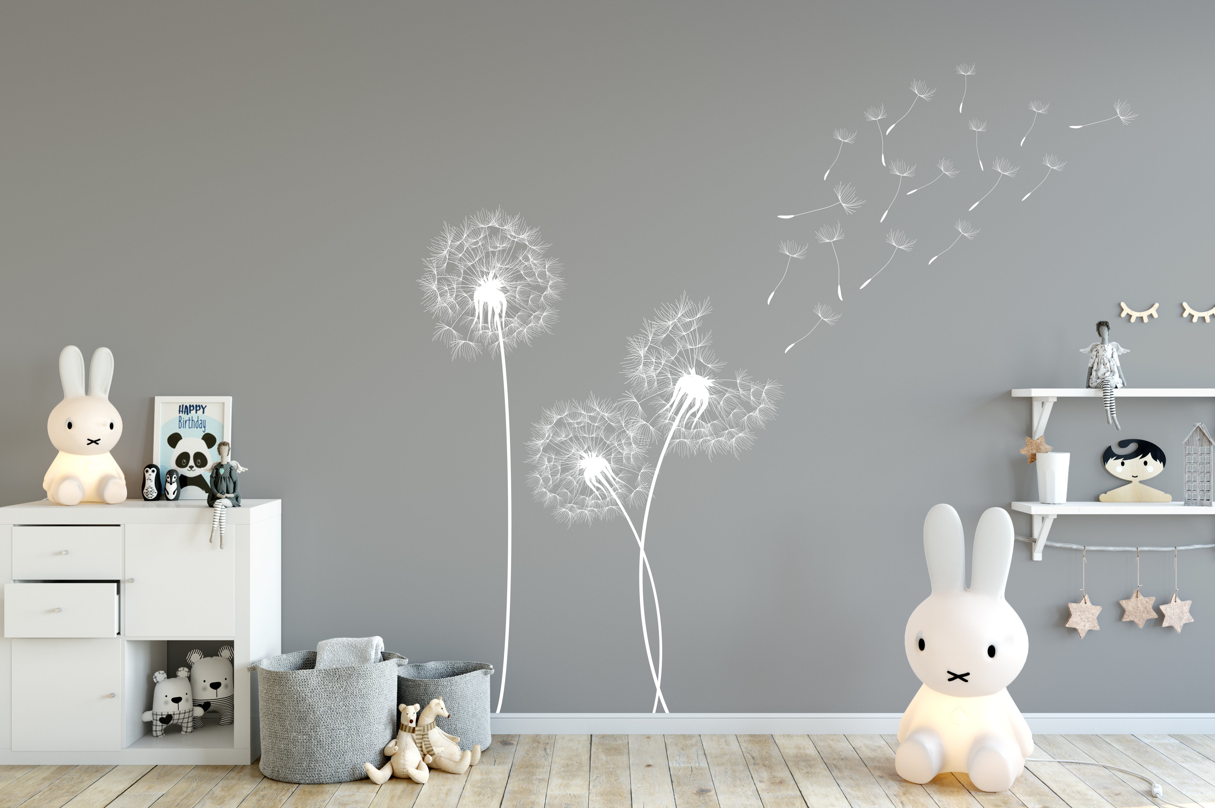 Wall Word Art Stickers Beautiful Dandelion Wall Stickers Perfect For Your