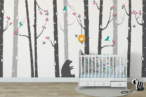 Nursery Tree Wall Stickers