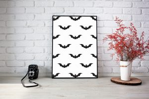 Halloween Bat prints