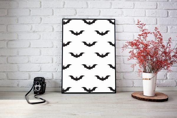 Halloween Bat prints