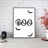 Boo Halloween Print